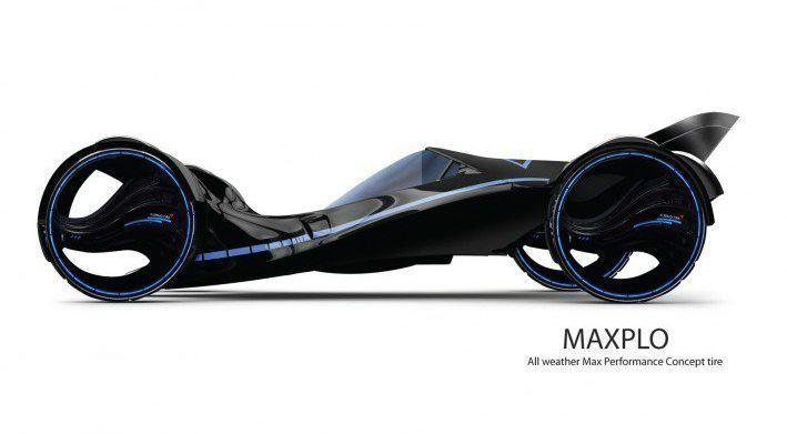 Сверхфутуристичная шина Kumho Maxplo с изменяющимся протектором